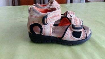 Kožne sandale br.19(nosene i vidi se na slikama)nisu pocepane samo - Petrovac na Mlavi