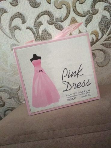 Bakı şəhərində Etir .Pink dres orginal etir duxi parfum