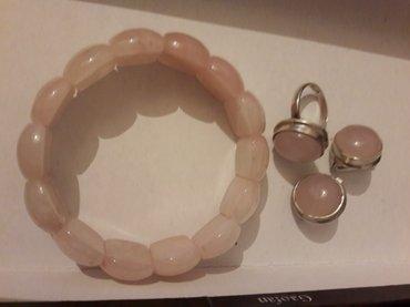 Продаю розовой кварц комплект и в Бишкек