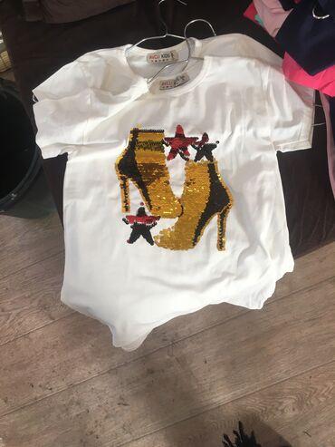 двойка одежда в Кыргызстан: Детские футболки, все размеры. Оптом и в розницу!