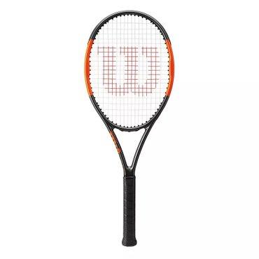 Теннисная ракетка Wilson burn 100 2018 (новая)  в Бишкек
