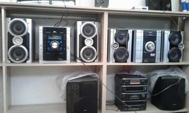 Продаю музыкальные центры аукс. все вопросы по тел в Бишкек