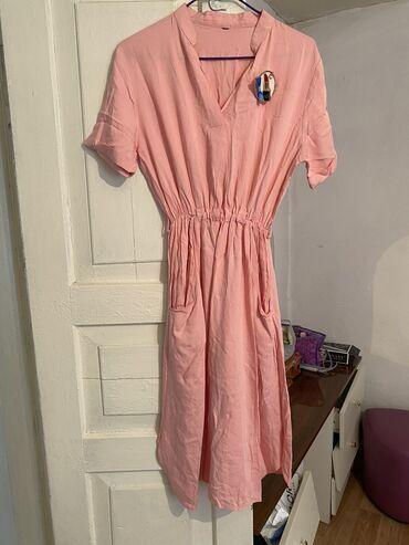 Летняя платья производства Корея! Состояние идеальное, одета один раз!