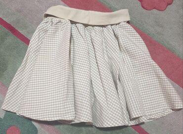 Pre - Srbija: No no suknja za devojcice. Pun krug, karirana. Sa 3 godine se ne može