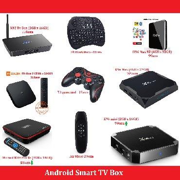 телефон флай 141 тв в Азербайджан: Smart TV Box Android 7.1X96 mini 2GB x 16GB (4x niveli) - 59aznMecool