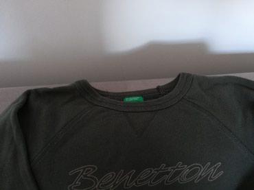 Benetton zenski kraci duks, velicina s, maslinasto zelen - Pozega - slika 3