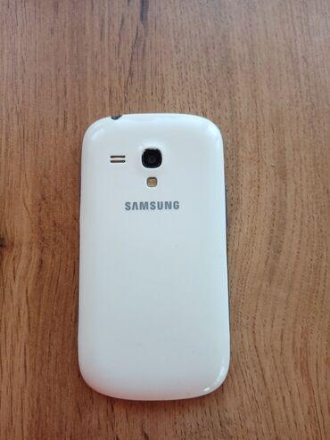 Samsung - Novxanı: İşlənmiş Samsung Galaxy S3 Mini 4 GB ağ
