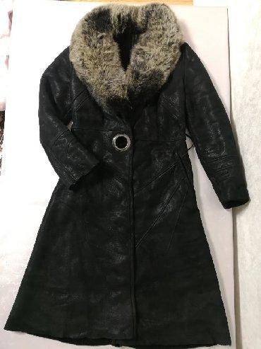 приталенное пальто в Кыргызстан: Дубленка пальто женское. Состояние и качество отличное. Размер S