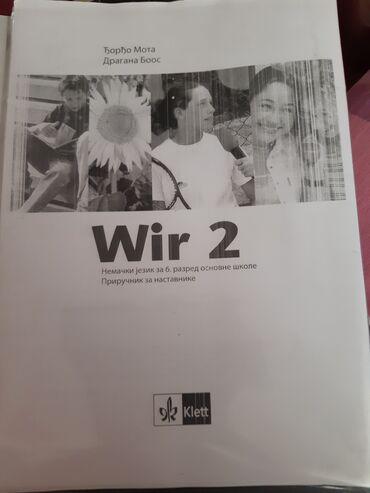 Wir 2, Nemacki za 6. razred, Prirucnik za nastavnike sa resenjima iz