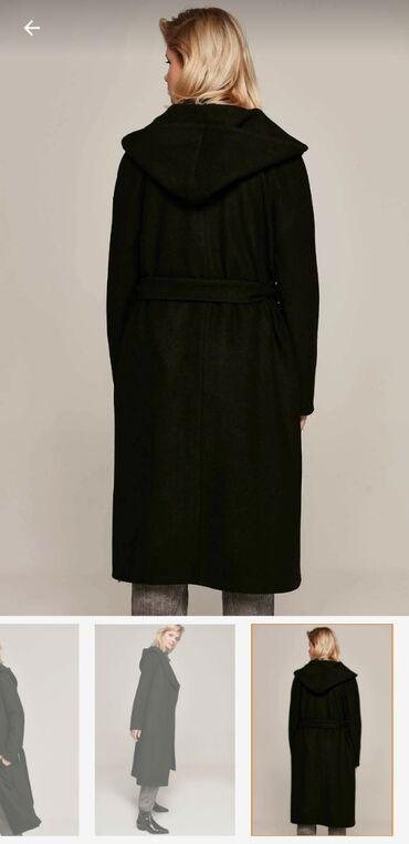 zhenskoe drapovoe palto в Азербайджан: Palto,Turkiyeden getizdirilibY-London brendi.Hec geyinilmeyib boyuk