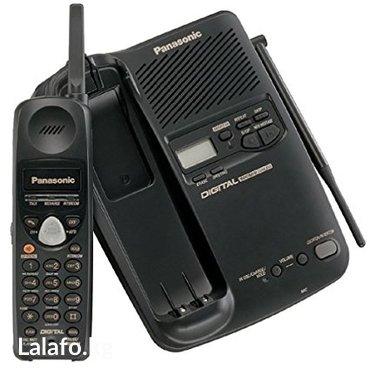 Батарейки-на-телефон - Кыргызстан: Panasonic kx-tc1503 радио-телефон. состояние: б/у,цвет