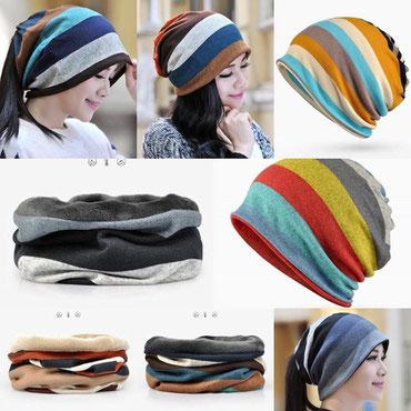 Оригинальные #шапки-шарфы в Бишкек