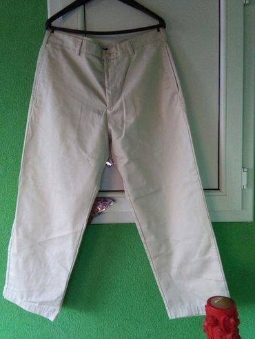 Pantalone muske prelep materijal,samo jednom nosene,vidi slike,bez - Sombor