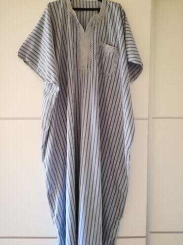 Haljine | Bajina Basta: Haljina za punije osobe iz uvoza. Ravan kroj. Dužina 136, poluobim