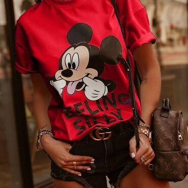 Miki maus - Srbija: Zenske majice Miki Maus NOVO!*Nova Kolekcija *Dostupne boje : crna