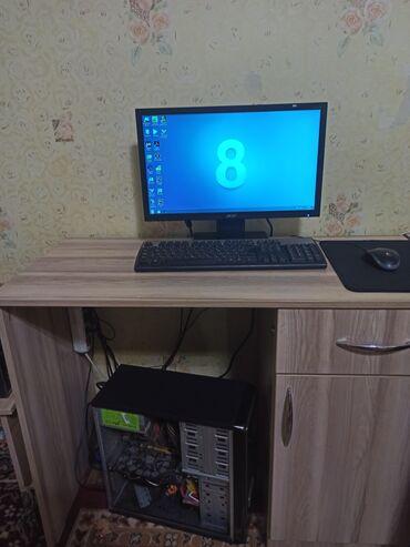 графический планшет бишкек in Кыргызстан | ПЛАНШЕТЫ: Продаю офисный пк полный комплект установлен Win7 для работы