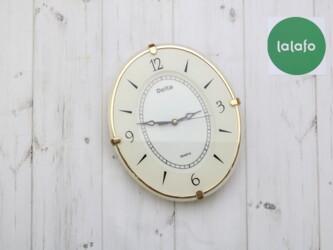 Дом и сад - Украина: Часы настенные Delta   Материал: пластик и стекло.  Кварцевый механизм