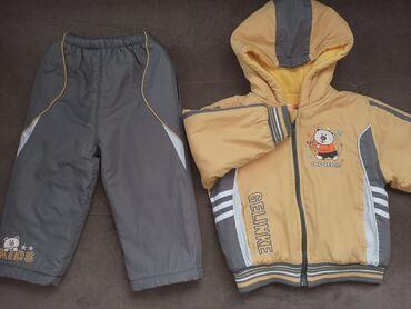Детский зима/осень комплект. Штаны и куртка (до 2 лет). Очень классно