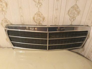 Bakı şəhərində W 210 mersedes Eligans Nikelli radiator barmağlığı 1995-1999 ci il