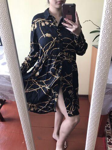 Личные вещи - Каракол: Хлопковое качественное платье отдам за 250,размер S,M