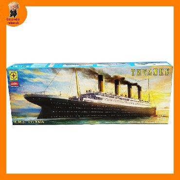 Модели кораблей - Бишкек: Моделирование на клее корабль Титаник!!В комплекте есть 177 деталей