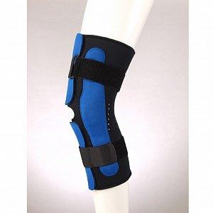 Ортез коленный разъемный с полицентрическими шарнирами удлиненный