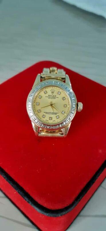 Личные вещи - Кара-Кульджа: НОВЫЕ женские золотые часы от ROLEX с бриллиантами 585пробы.31гр отдам