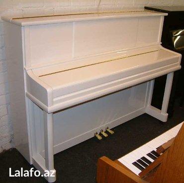 Bakı şəhərində Pianino stultz & bauer - amerika istehsalı 3 pedallı, kiçik qabaritli