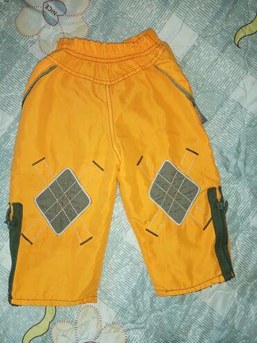Детский мир - Кант: Г. Кант. Продаю детские тёплые штанишки. 1-2г