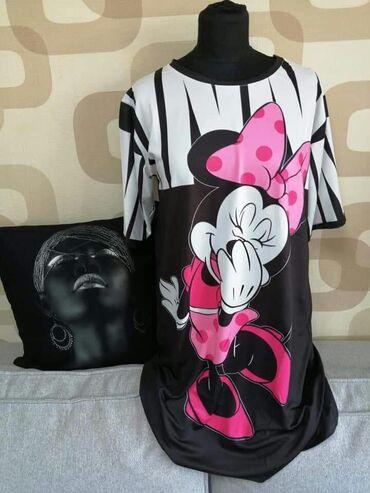 Ženska odeća | Becej: Haljina tunika siri model  S M L  1000 din