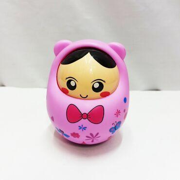 Неволяшка матрёшка - славная малышовая игрушка с бантиком и приятным