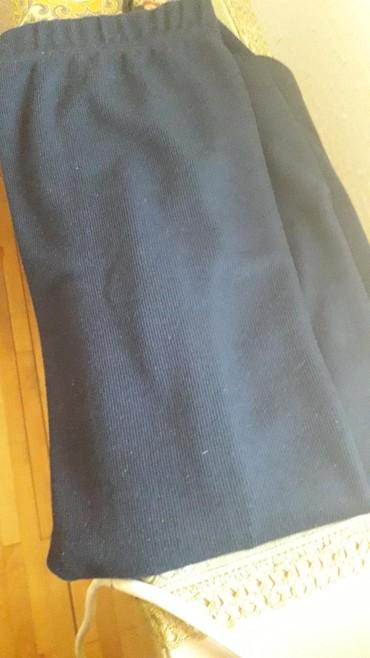 Suknja gerry - Srbija: Teget suknj kvalitetna trikotaza br l ali ima lastiz pa moze i xl
