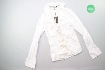 Жіноча класична сорочка з рюшами be. Tween, р. S/M    Довжина: 59 см