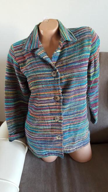 Nov sako/jaknica, ima etiketu, odgovara l velicini, rukavi 7/8. ramena - Arandjelovac