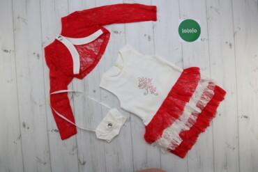 Дитячий комплект плаття, накидка і сумочка Minikon    Плаття:  Довжина