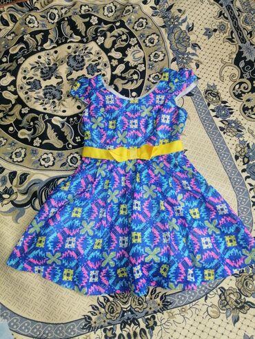Платья - Состояние: Новый - Кок-Ой: Платье размер М качество отличное привозное всего за 300