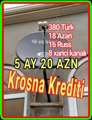 peyk antenalari - Azərbaycan: Krosnu peyk antena