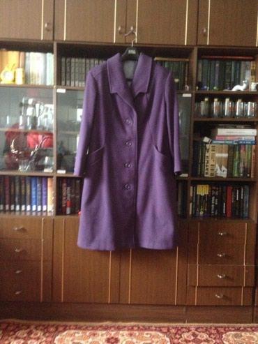 Пальто драповое демисезонное р.56 в Simpele