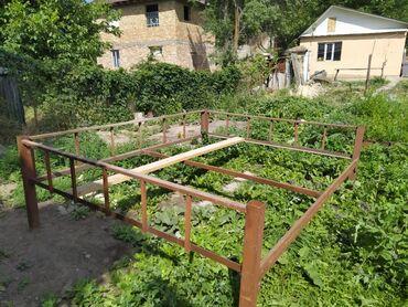 Садовая мебель в Кыргызстан: Топчан доски из пятерки