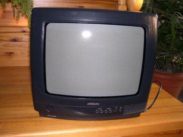 Рабочий телевизор рhilips. диагональ 35см (14 дюймов). в Бишкек