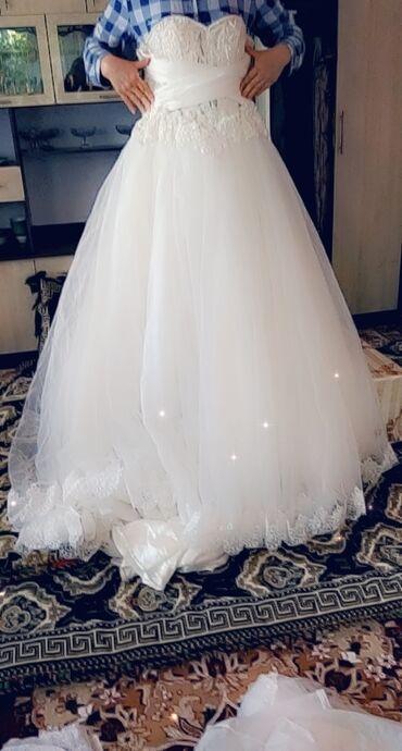 Продаю свадебное платье одевалось один раз. В комплекте фата и болеро