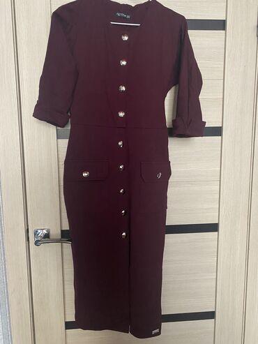 отдам в Кыргызстан: Стильное платье сидит по фигуре размер S, (42) Турция 2 раза