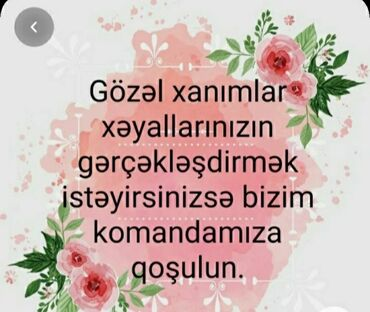 platforma çəkələk - Azərbaycan: Şəbəkə marketinqi məsləhətçisi. Oriflame. İstənilən yaş. Natamam iş günü. 8-ci kilometr r-nu