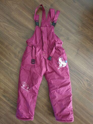 Pantalone cm - Srbija: Pantalone za sneg za devojcice. Koriscene, a kao nove su. Bez