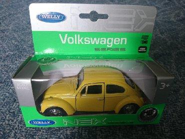 Vw buba - Srbija: Metalni auto Volkswagen Buba Auto Naziv: Kolekcionarski model -