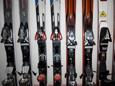 Лыжи - Бишкек: Продаю бу горные лыжи atomic, salomon, head от 9200 до 12000 сом
