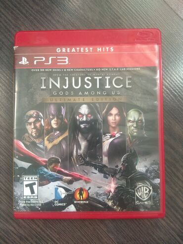 ps3 twisted metal в Кыргызстан: Injustice ps3