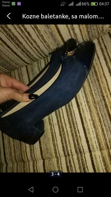 Ženska obuća | Zrenjanin: Kozne baletanke+tunika=790din