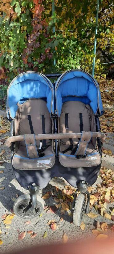 велик для двойняшек в Кыргызстан: Коляска детская для двойняшек
