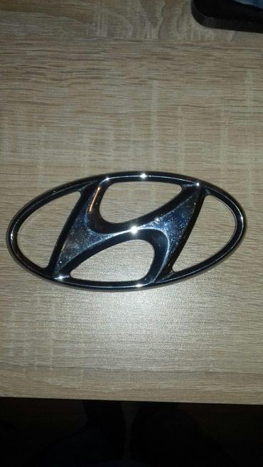 Bakı şəhərində Hyundai loqosu orjinal nikel Kohne Sonatanindi